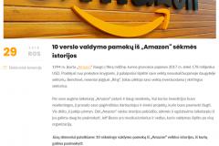 """10 verslo valdymo pamokų iš """"Amazon"""" sėkmės istorijos"""