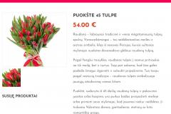 Puokštė 45 tulpės - Graziosgeles.lt