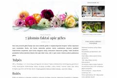 7 įdomūs faktai apie gėles