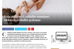 Kaip atsikratyti celiulito namuose: efektyvus celiulito gydymas