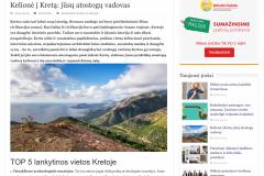 Kelionė į Kretą: jūsų atostogų vadovas