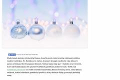Kokie kalėdiniai patiekalai puošia užsienio šalių kalėdinį stalą