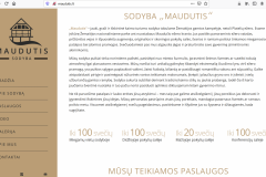 """Sodyba """"MAUDUTIS"""""""