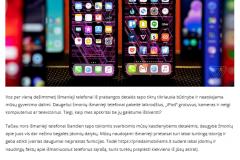 12 faktų, kurių iki šiol nežinojote apie išmaniuosius telefonus