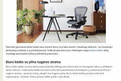 Darbo kėdės jūsų biurui