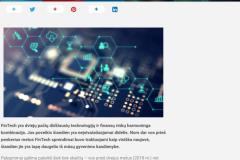 Technologijos, kurios pakeis FinTech rinką 2020 m.