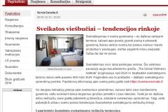Sveikatos viešbučiai - tendencijos rinkoje