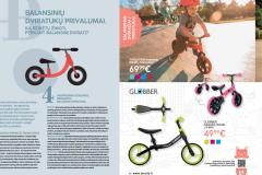 """""""BabyCity/ToyCity"""" lauko žaislų katalogas 2020 - Balansinių dviratukų privalumai. Ką reikėtų žinoti perkant balansinį dviratį?"""