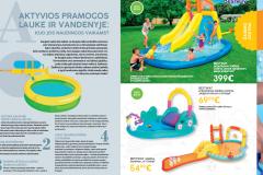 """""""BabyCity/ToyCity"""" lauko žaislų katalogas 2020 - Aktyvios pramogos lauke ir vandenyje: kuo jos naudingos vaikams?"""